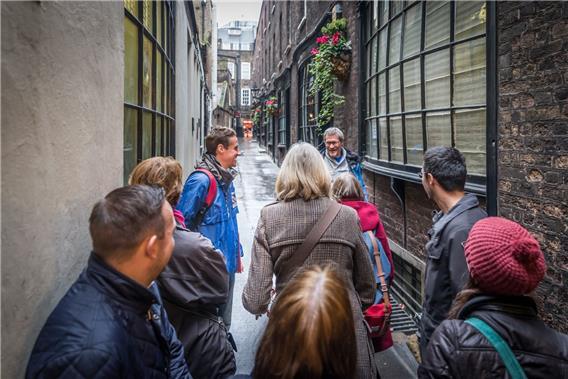 Secret London Walking Tour